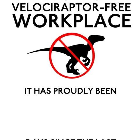 Download Stl File No Velociraptors 3d Printing Model Cults