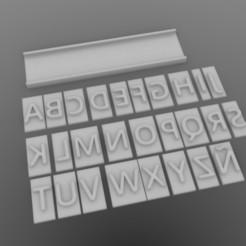 untitled.112.jpg Download STL file Alphabet • 3D printer model, sebastiandavidsalas
