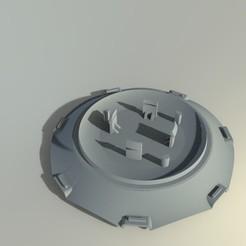 untitled.106.jpg Télécharger fichier STL gratuit Volkswagen, capuchon central de la jante • Objet à imprimer en 3D, sebastiandavidsalas