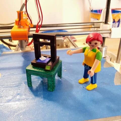 Imprimir en 3D gratis Impresora 3D Playmobil, Ant-103