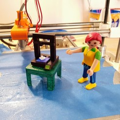 Free 3D printer files Playmobil 3D printer, Ant-103