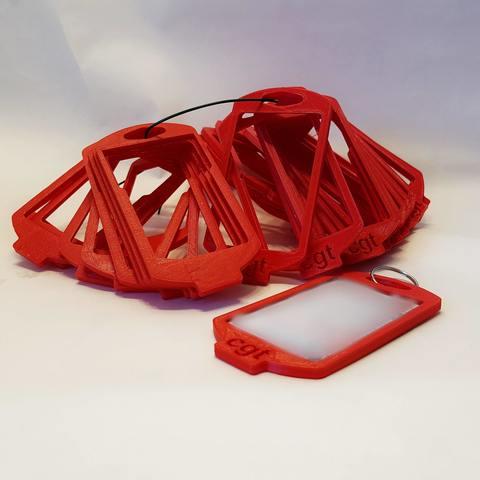 Download 3D printer designs CGT badge holder, Ant-103
