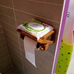 P1140270-01.jpeg Télécharger fichier STL dérouleur de papier toilette sec et humide • Modèle imprimable en 3D, Ant-103