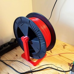 Download 3D printing files Large reel support, Ant-103