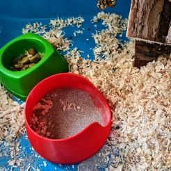 20200827_084350.jpg Télécharger fichier STL Bac à sable pour hamster • Plan imprimable en 3D, Ant-103