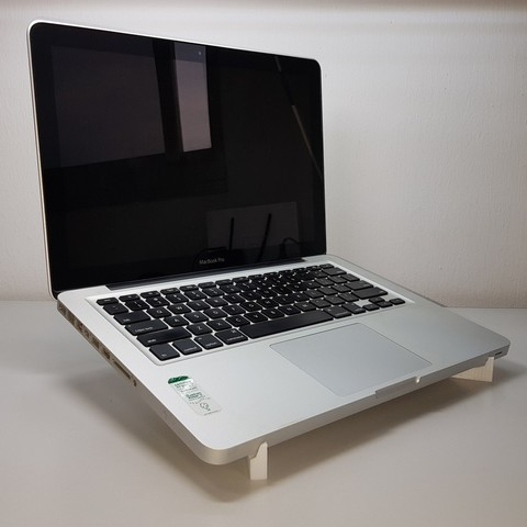 Free 3D print files laptop holder macbook 15'', mingyew
