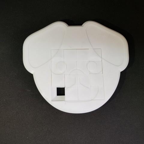ec0e32bed77041f7a16bc6d1fec016d8_display_large.jpg Télécharger fichier STL gratuit 4x4 Puzzle coulissant pour chien • Objet pour impression 3D, mingyew