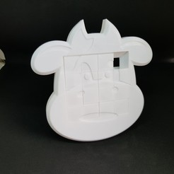 5ea0239ba128c8fee73243e532fd030b_display_large.jpg Download free STL file 4x4 Cow sliding puzzle • 3D print design, mingyew