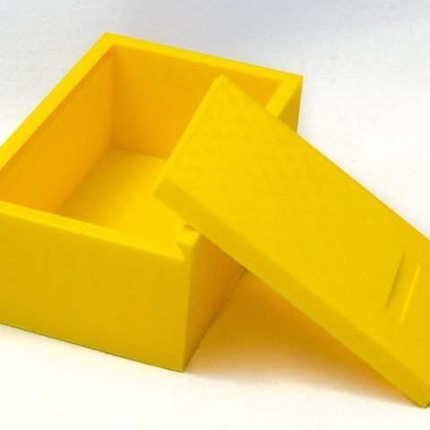 Box_with_sliding_lid-4_display_large.jpg Download free STL file Box with sliding lid • 3D printer object, Jakwit