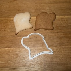 Free 3D printer model Rottweiler Cookie Cutter, Jakwit