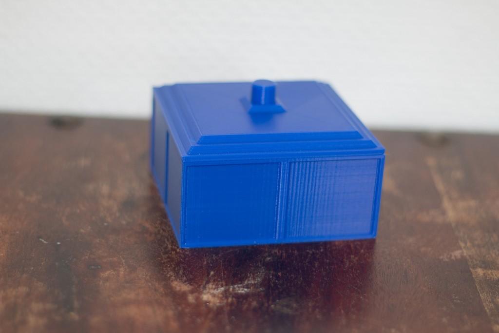 18e5172f29f1b6a36146c79c3ef2b5c7_display_large.jpg Download free STL file Tardis inspired coaster box • 3D print object, Jakwit