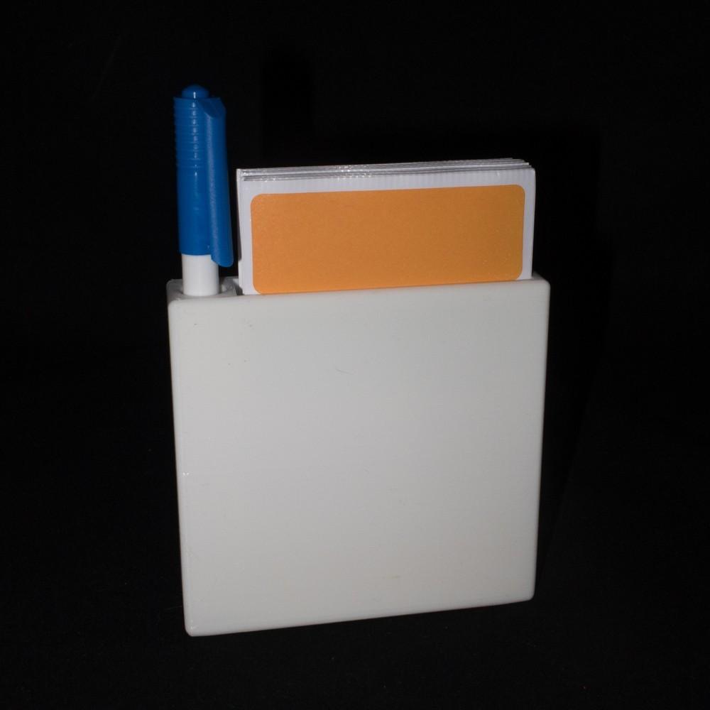 Fremsiden_6_display_large.jpg Download free STL file Label container • 3D print object, Jakwit