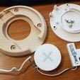 Télécharger plan imprimante 3D gatuit Station de charge - Avec chargeur sans fil Ikea, Jakwit