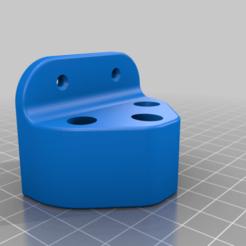 Flagholder.png Download free STL file Flagholder / Flagfan • Template to 3D print, Jakwit