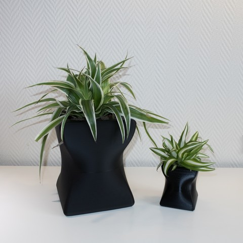 IMG_9774.jpg Download free STL file Small curved planter • 3D printer object, Jakwit