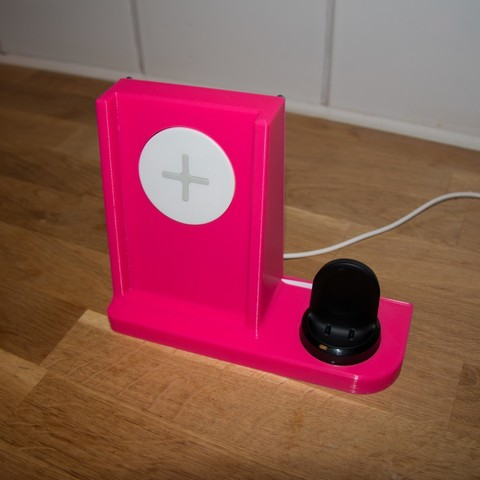 Download Free 3d Printing Templates Charging Station With Ikea Wireless Charger ・ Cults