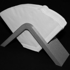 Free 3D model Coffee filter holder - No. 4, Jakwit