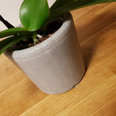 Free STL Mould for concrete planter, Jakwit