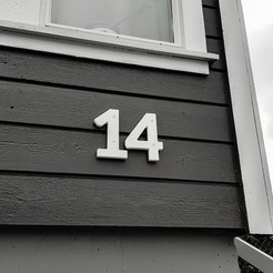 Download free 3D print files House Numbers, Jakwit