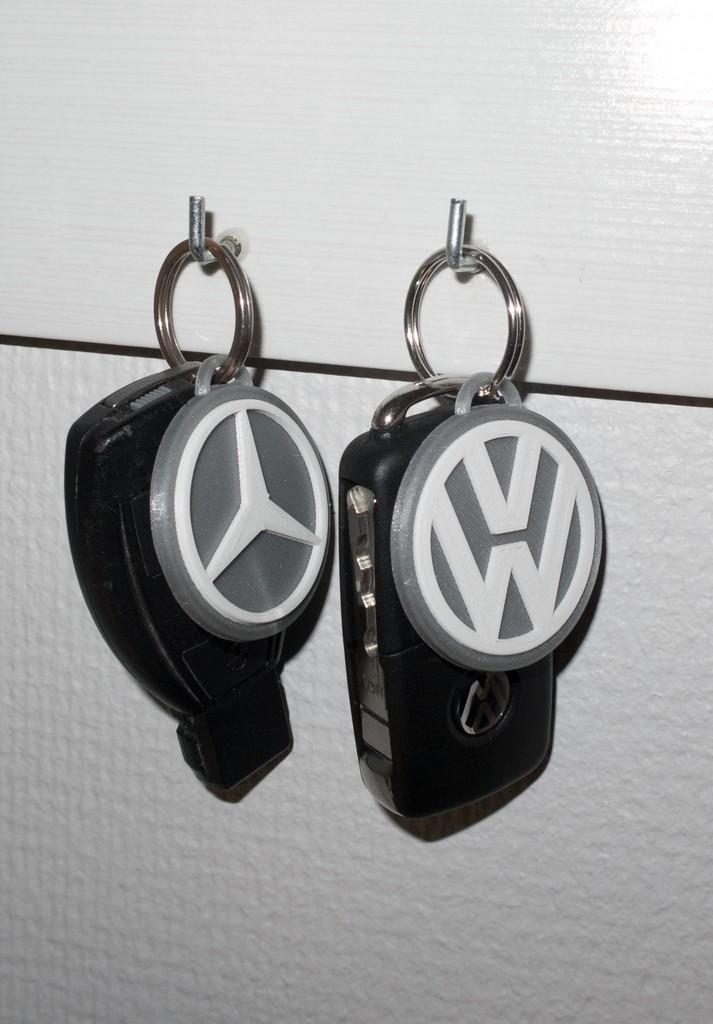 426111d9b08b877c596a596988771c02_display_large.jpg Download free STL file Mercedes Benz and Volkswagen keychain • 3D printable model, Jakwit