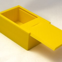 Box_with_sliding_lid-1_display_large.jpg Download free STL file Box with sliding lid • 3D printer object, Jakwit