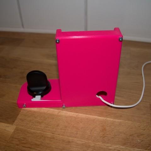 35e61a1ae0b3488ba376f7a82c315b61_display_large.jpg Télécharger fichier STL gratuit Station de charge - Avec chargeur sans fil Ikea • Objet pour impression 3D, Jakwit