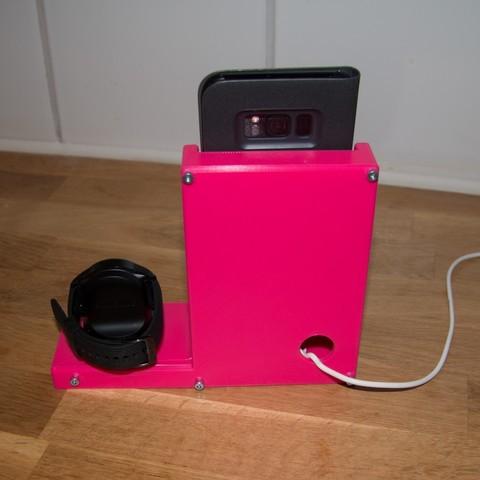 f3a29edef90cf6d873a48a720af7986b_display_large.jpg Télécharger fichier STL gratuit Station de charge - Avec chargeur sans fil Ikea • Objet pour impression 3D, Jakwit