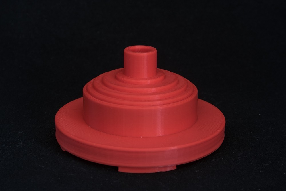 Filamentspindel_1_display_large.jpg Download free STL file Spool holder • 3D print object, Jakwit