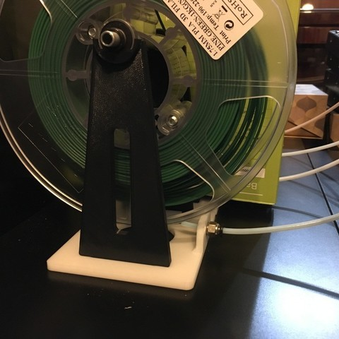 Download free 3D printing models Spool holder (reuse Prusa MMU2 bearings and rods), Aravon