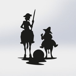 Download 3D printing models Don Quixote, juanreina2