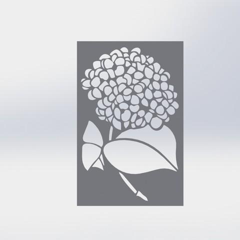 3D printer files Insole Flower (Stencil), juanreina2