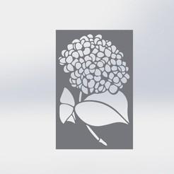 Plantilla flor.JPG Download STL file Stencil Flower (Stencil) • 3D printing template, juanreina2