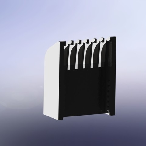 Cabezal recortadora de pelo 2 (Material ABS).JPG Download STL file Taurus Hipnos Power beard trimmer head • Template to 3D print, juanreina2