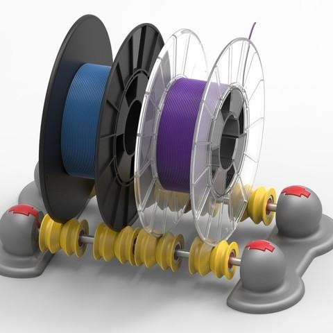 d86d6d0da72a72401229934a15985a0d_display_large.jpg Télécharger fichier STL gratuit Distributeur de filament réglable SCOPIC • Design pour imprimante 3D, sneaks