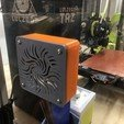 Download free 3D print files Housing for Mounting 80mm Fan on Acrylic, sneaks