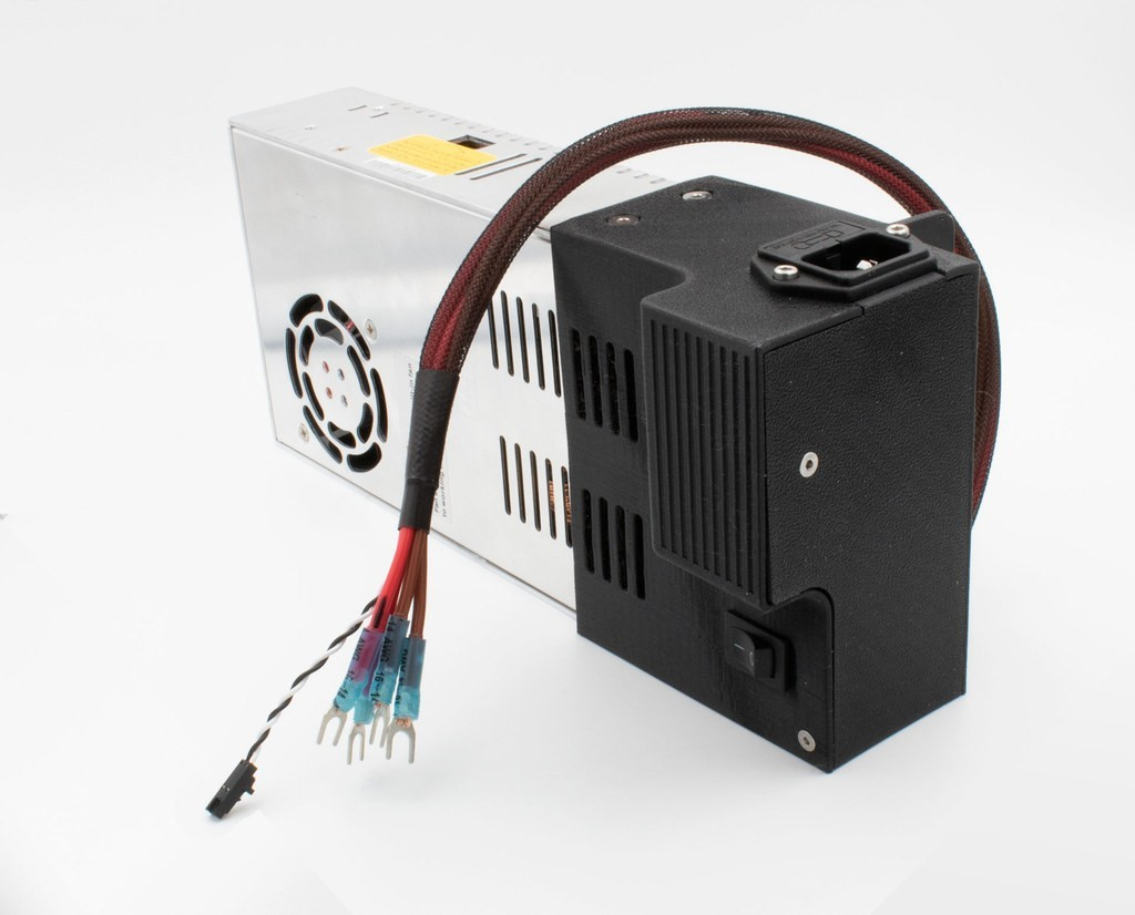 5d340630d6aab81dc9619d3a5a15e27d_display_large.jpg Download free STL file Prusa MK3 Mean Well Power Supply (PSU) Upgrade Housing • 3D printable model, sneaks