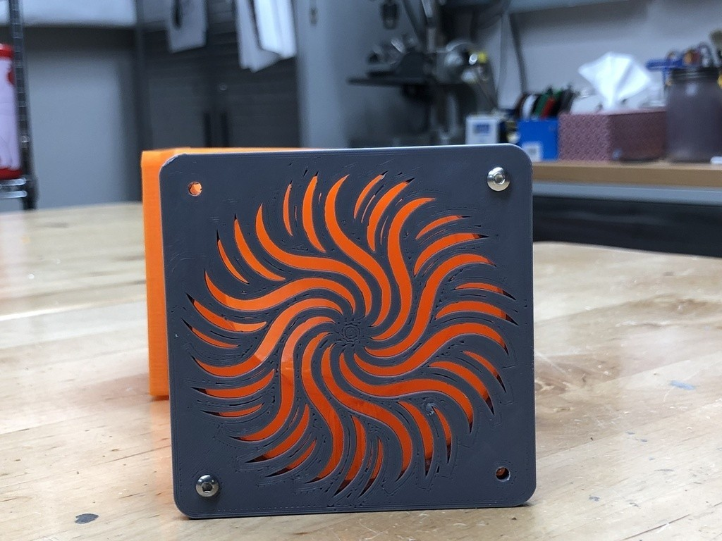 1bad15e23603e5ada4829b1181462dcf_display_large.jpg Download free STL file Duct and Cover for 80mm Fan - Used to Vent TAZ 6 • 3D print object, sneaks