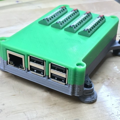 Download free 3D printer model Raspberry Pi 2 Pi 3 Terminal Block Case, sneaks