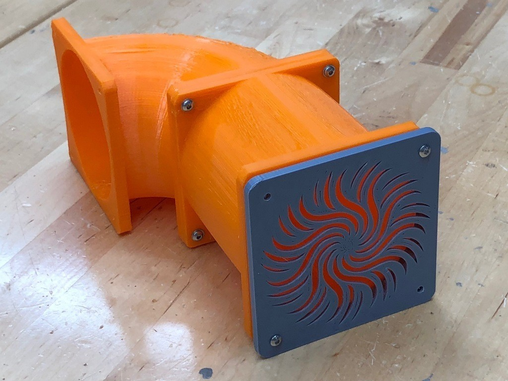 2f1e3a44675aa95eb7a85b1e1478cec1_display_large.JPG Download free STL file Duct and Cover for 80mm Fan - Used to Vent TAZ 6 • 3D print object, sneaks