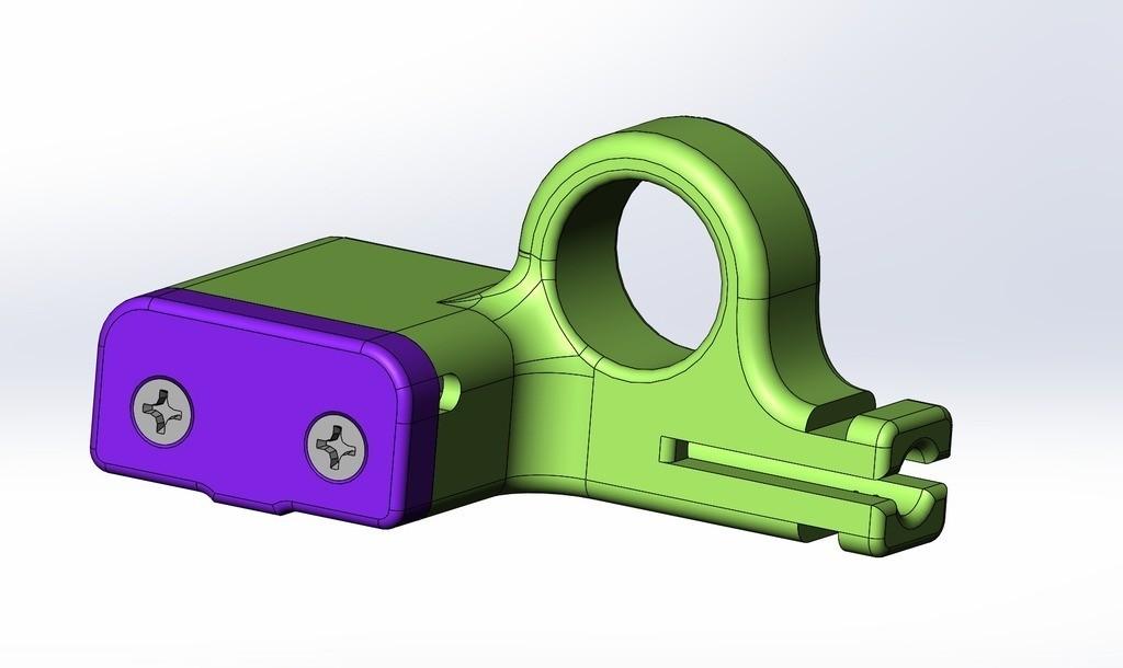 472643fdc12346816037db52e3ed31f0_display_large.jpg Télécharger fichier STL gratuit Capteur à filament pour Luzlbot TAZ 6 (2.85mm design) • Modèle pour impression 3D, sneaks