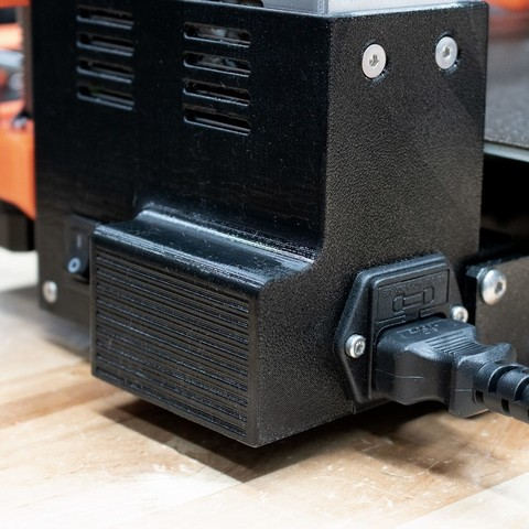 f24852722cae5ed4a0762b62a7143e2b_display_large.jpg Download free STL file Prusa MK3 Mean Well Power Supply (PSU) Upgrade Housing • 3D printable model, sneaks