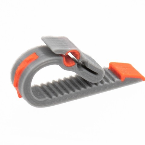 Download free 3D print files Khaleesi Clip Multicolor Filament Clip 1.75 & 2.85mm, sneaks