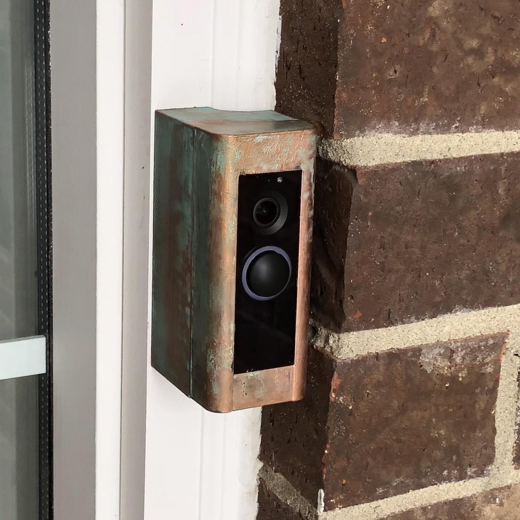 54faf853d5263afc99f7236d029fea13_display_large.jpg Download free STL file Ring Doorbell Pro Mounting Bracket • 3D printer model, sneaks