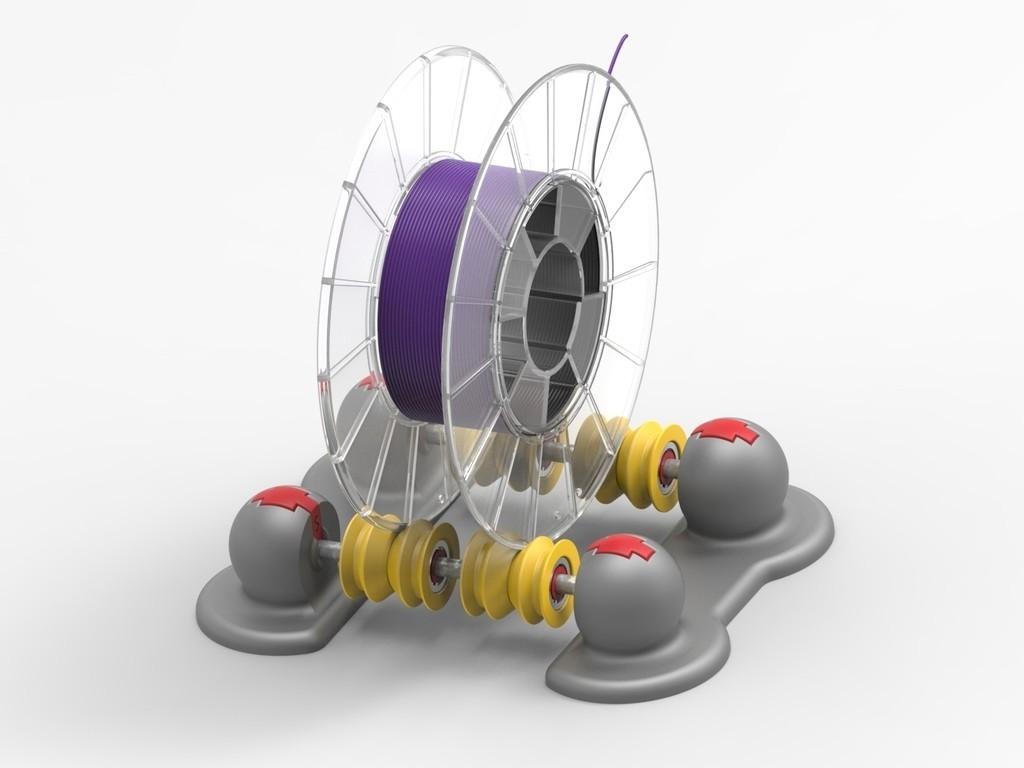 0ba378ae8f2f0116189a408206783d12_display_large.jpg Télécharger fichier STL gratuit Distributeur de filament réglable SCOPIC • Design pour imprimante 3D, sneaks