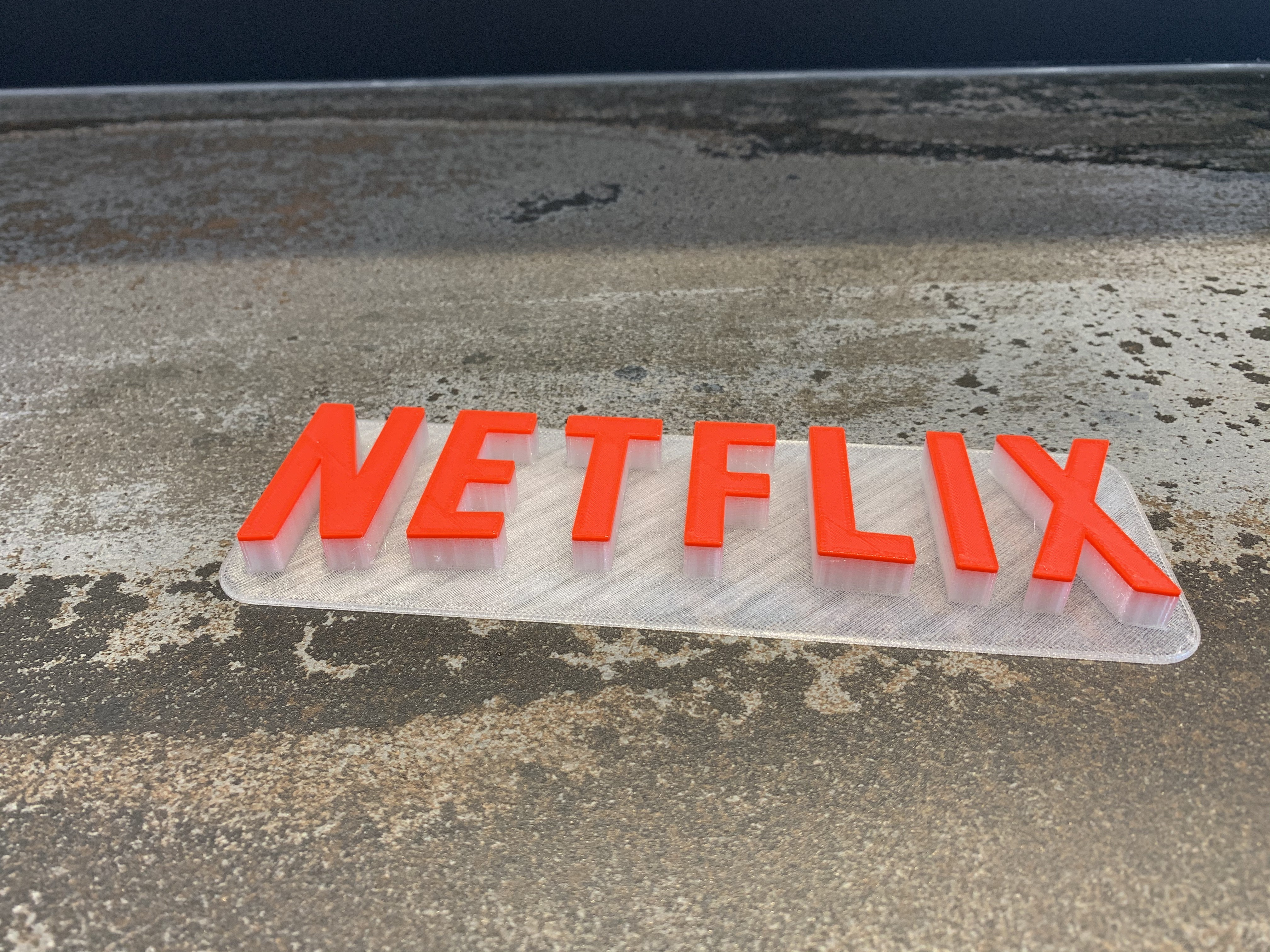 IMG_6153.jpeg Download free STL file A tribute to NETFLIX • 3D printable template, LowRob