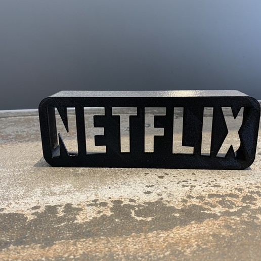 IMG_6151.jpeg Download free STL file A tribute to NETFLIX • 3D printable template, LowRob