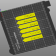Download free STL file Schilder für Kräutergarten • Template to 3D print, LowRob