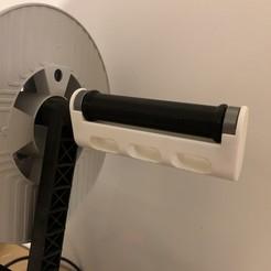 Télécharger fichier imprimante 3D gratuit Porte-filament de remplissage - Prusa Remix, LowRob