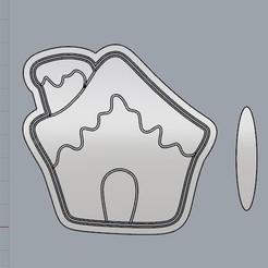 CasitaJengibre.jpg Télécharger fichier STL Casita Navideña, Un Noël différent. • Modèle à imprimer en 3D, crcreaciones3d