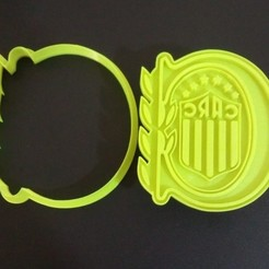 Download 3D printing designs Rosario Central Athletic Club. CARC, crcreaciones3d